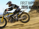 First Impressions: Riding the 2015 Husqvarna FC350