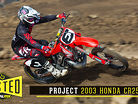 Tested: Project 2003 Honda CR250R