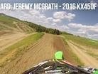 Onboard: Jeremy McGrath - 2016 KX450F Intro