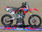 Amsoil Honda's Fuel-Injected CRF150R
